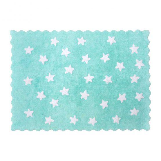 Aratextil alfombra lavable Eden mint