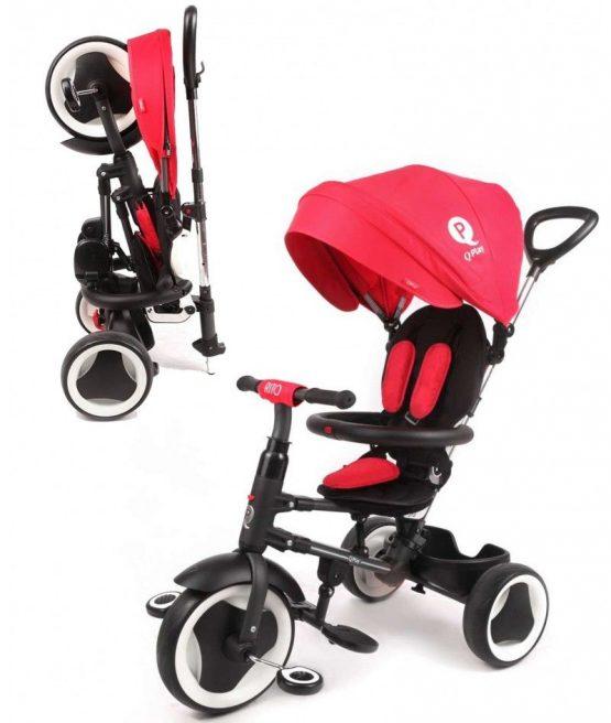 QPlay Rito Rojo triciclo plegable
