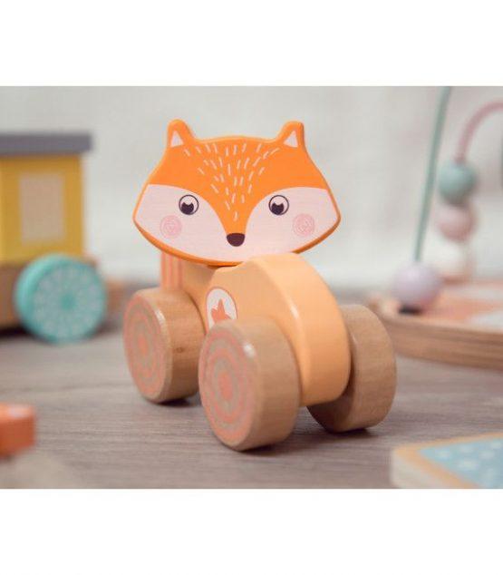 Kiokids juguete de madera zorrito