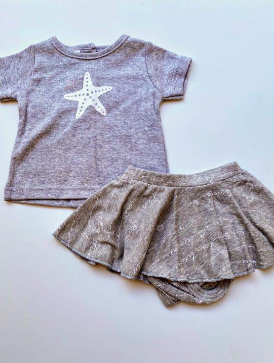 Beltin conjunto falda gris