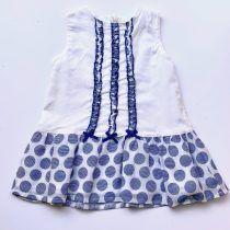 Coco vestido lunares azulon
