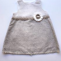 Sulfy vestido lino detalle