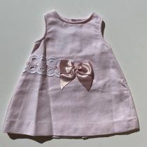 Sulfy vestido pique rosa