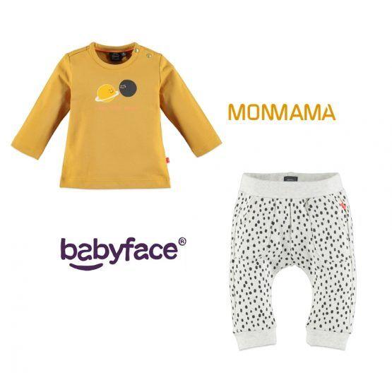Babyface conjunto Moon mostaza